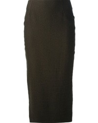 Haider ackermann pencil skirt medium 9323