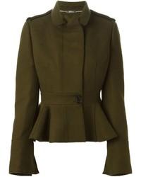 Alexander McQueen Peplum Military Jacket