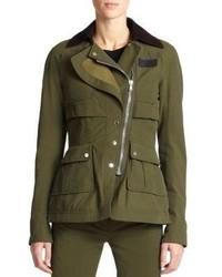 Altuzarra Alize Waxed Cotton Field Jacket