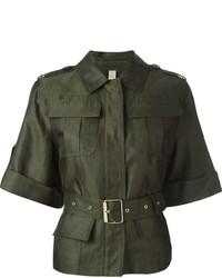 Brit shortsleeved military jacket medium 681076