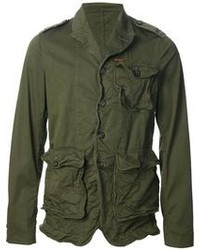 DSquared 2 Distressed Military Jacket