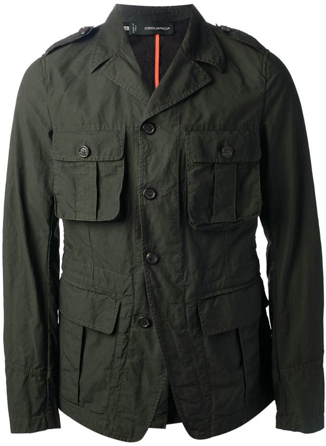 DSQUARED2 Military Style Jacket | Where to buy & how to wear