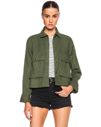 The Great Swingy Army Jacket