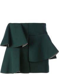 Dark green mini skirt original 5089384