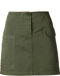 Band Of Outsiders Cargo Mini Skirt
