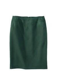 Merona Classic Pencil Skirt Green Marker 8