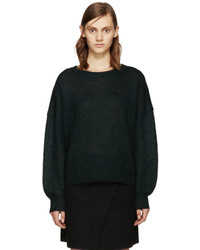 Etoile isabel marant isabel marant etoile green clifton rainbow sweater medium 652153
