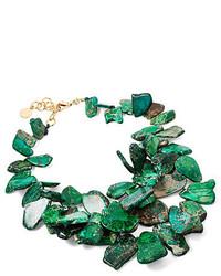 Nest Emerald Chunky Necklace