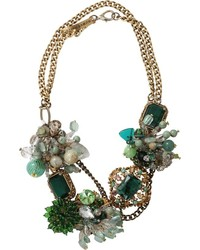 Subversive Jewelry Emerald Wreath Necklace