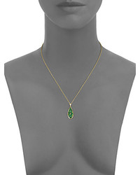 Plev verde tsavorite diamond 18k yellow gold teardrop pendant plev verde tsavorite diamond 18k yellow gold teardrop pendant necklace aloadofball