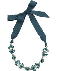 Lanvin Short Crystal Necklace