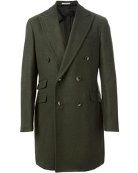 Dark Green Overcoat