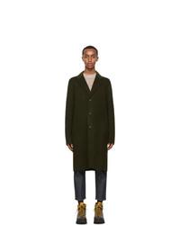 Acne Studios Green Wool Coat
