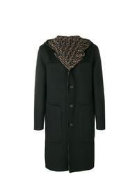 Fendi Hooded Midi Coat