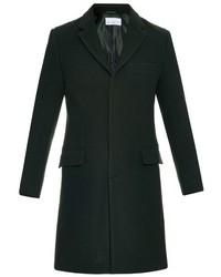 Ry single breasted wool chesterfield coat medium 380737