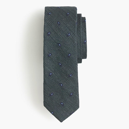J.Crew English Silk Tie In Paisley Foulard