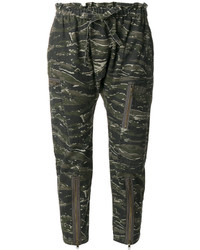 Current/Elliott Aviation Cropped Trousers