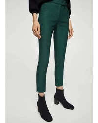 Mango Crop Slim Fit Trousers