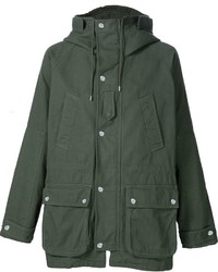 Dark Green Parka