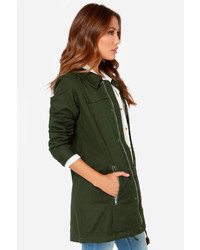 rhythm Alpine Forest Green Parka | Where to buy & how to wear