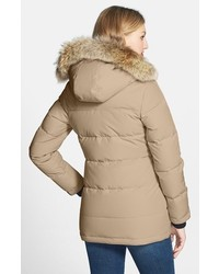 Canada Goose Solaris Regular Fit Down Parka With Genuine Coyote ...