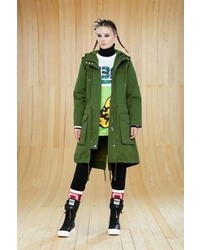 Marc by Marc Jacobs Classic Cotton Hooded Parka