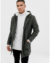5cdce2b0970 French Connection Fishtail Hooded Parka With Borg Lining