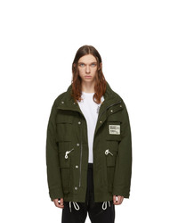 Diesel Green J Touchin Clean Field Jacket