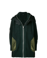 Diesel Hooded Knit Coat