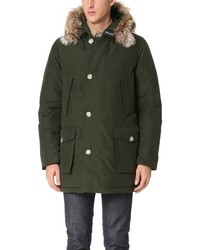 John rich bros arctic parka with fur collar medium 841963