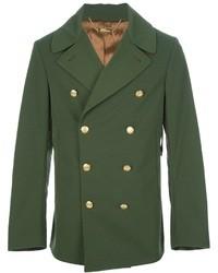 Dark Green Pea Coats for Men | Men's Fashion