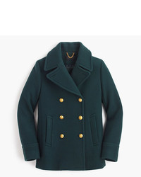J.Crew Petite Majesty Peacoat In Stadium Cloth