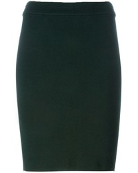 Dark Green Pencil Skirts for Women | Women's Fashion
