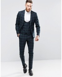 Noose Monkey Super Skinny Suit Pants In Plaid | Where to buy & how ...