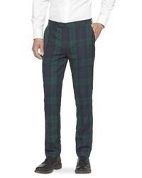 Mens Green Plaid Pants