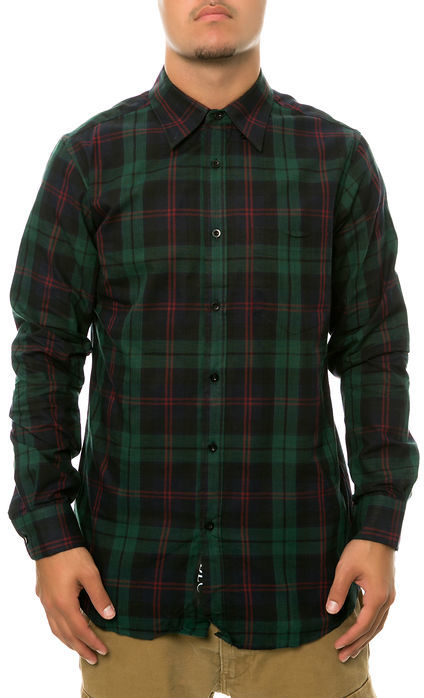 Blc The Plaid Ls Buttondown Shirt In Green | Where to buy & how to ...