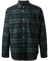 Golden goose deluxe brand plaid pattern shirt medium 171844
