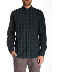 Ourcaste The Kevin Slim Fit Woven Plaid Shirt