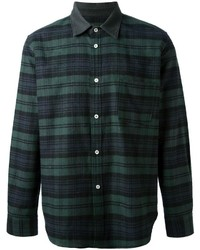 Plaid pattern shirt medium 171844