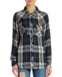 Rails kendra plaid flannel shirt medium 95168