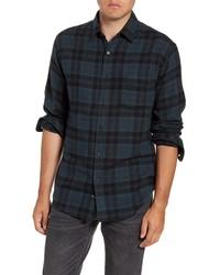 Rails Lennox Slim Fit Plaid Button Up Shirt