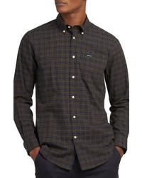 Barbour Lomond Tailored Fit Plaid Stretch Shirt