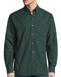St johns bay st johns bay long sleeve easy care oxford shirt medium 850997