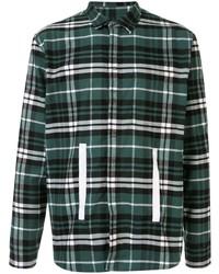 Craig Green Tape Appliqu Plaid Shirt
