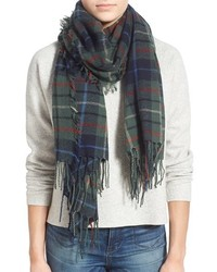 Blanket plaid blanket scarf medium 385384