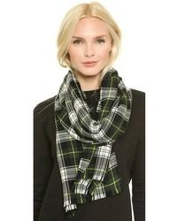 Franco ferrari extreme plaid scarf medium 129263