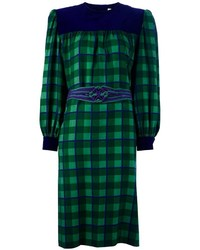 Givenchy Vintage Check Print Dress