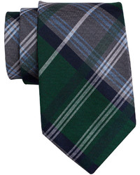 Collection Collection By Michl Strahan Plaid Silk Tie