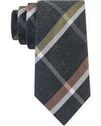 Kenneth Cole Reaction Melange Square Plaid Slim Tie