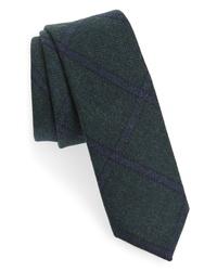 The Tie Bar Scoldo Plaid Wool Tie